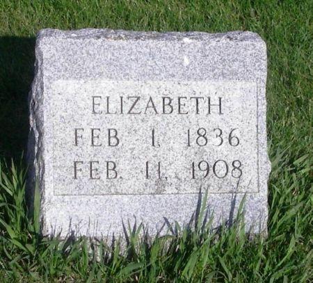 REED, ELIZABETH - Guthrie County, Iowa   ELIZABETH REED