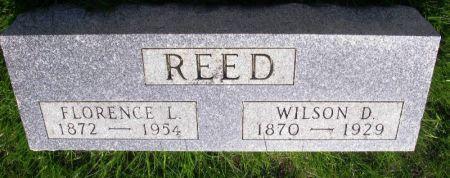 REED, WILSON D. - Guthrie County, Iowa   WILSON D. REED