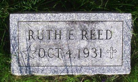REED, RUTH E. - Guthrie County, Iowa | RUTH E. REED