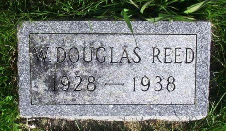 REED, W. DOUGLAS - Guthrie County, Iowa   W. DOUGLAS REED