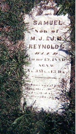 REYNOLDS, SAMUEL - Guthrie County, Iowa | SAMUEL REYNOLDS