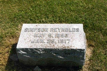 REYNOLDS, SIMPSON - Guthrie County, Iowa | SIMPSON REYNOLDS