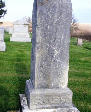 ROSS, FAMILY MARKER - Guthrie County, Iowa | FAMILY MARKER ROSS