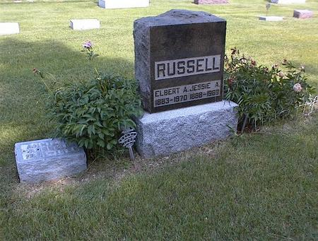 RUSSELL, JESSIE A. - Guthrie County, Iowa | JESSIE A. RUSSELL