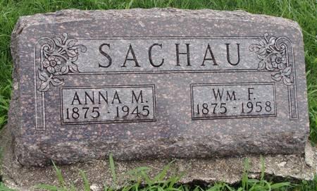 SACHAU, WM F - Guthrie County, Iowa | WM F SACHAU
