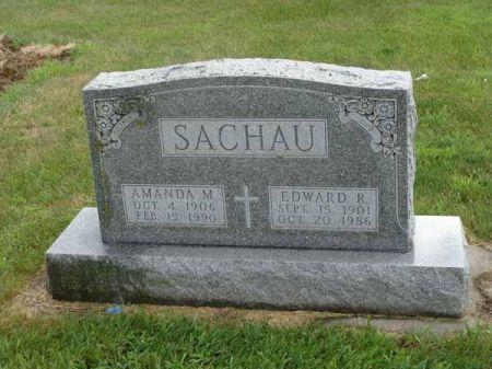 SACHAU, EDWARD R. - Guthrie County, Iowa   EDWARD R. SACHAU