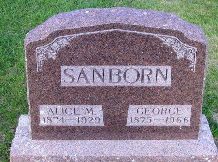 SANBORN, ALICE M. - Guthrie County, Iowa | ALICE M. SANBORN