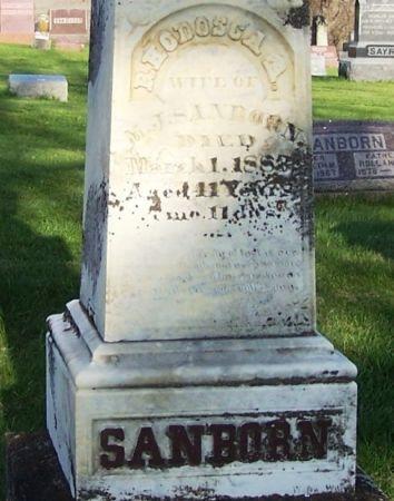 SANBORN, RHODOSCA A. - Guthrie County, Iowa   RHODOSCA A. SANBORN