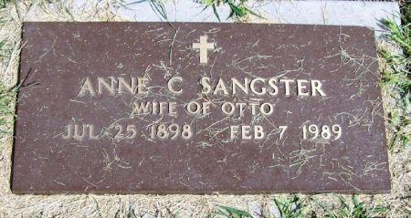 SANGSTER, ANNE C. - Guthrie County, Iowa   ANNE C. SANGSTER