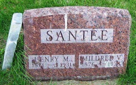 SANTEE, HENRY M. - Guthrie County, Iowa | HENRY M. SANTEE