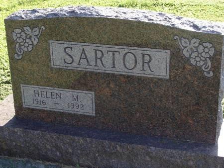 SARTOR, HELEN M - Guthrie County, Iowa | HELEN M SARTOR