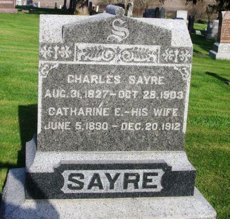 SAYRE, CATHARINE E. - Guthrie County, Iowa | CATHARINE E. SAYRE
