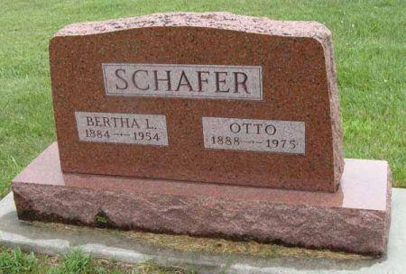 SCHAFER, OTTO - Guthrie County, Iowa | OTTO SCHAFER