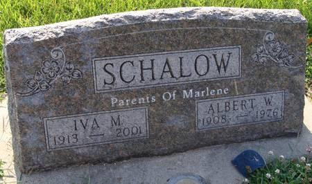 SCHALOW, IVA M - Guthrie County, Iowa | IVA M SCHALOW