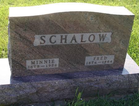 SCHALOW, FRED - Guthrie County, Iowa | FRED SCHALOW