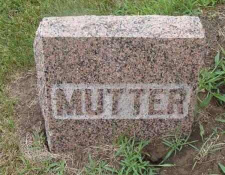 SCHALOW, MUTTER - Guthrie County, Iowa   MUTTER SCHALOW