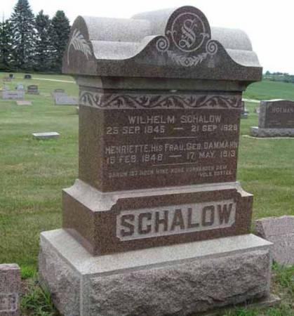 SCHALOW, HENRIETTE - Guthrie County, Iowa | HENRIETTE SCHALOW