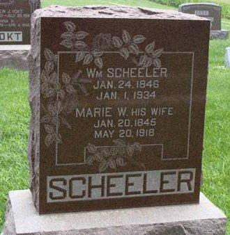 SCHEELER, MARIE - Guthrie County, Iowa | MARIE SCHEELER