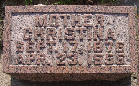 SCHIRM, CHRISTINA - Guthrie County, Iowa | CHRISTINA SCHIRM