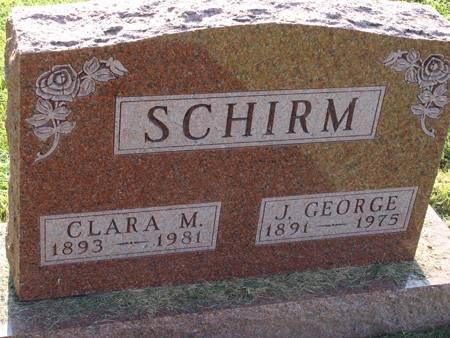 SCHIRM, J GEORGE - Guthrie County, Iowa   J GEORGE SCHIRM
