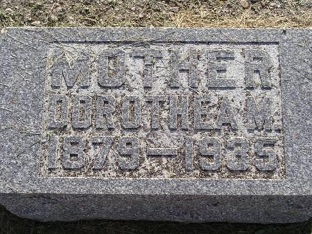 SCHIRM, DOROTHEA M - Guthrie County, Iowa | DOROTHEA M SCHIRM