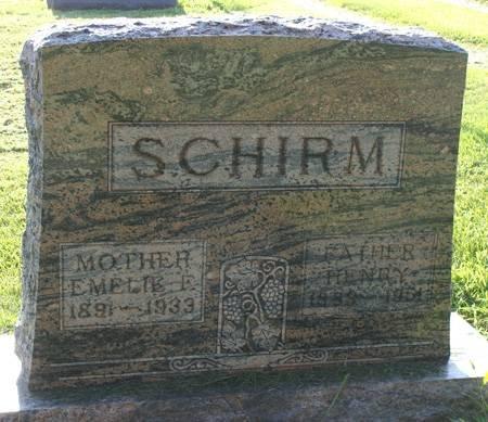 SCHIRM, HENRY - Guthrie County, Iowa   HENRY SCHIRM