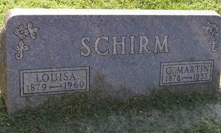 SCHIRM, C MARTIN - Guthrie County, Iowa | C MARTIN SCHIRM