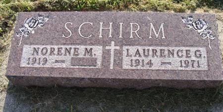 SCHIRM, NORENE - Guthrie County, Iowa | NORENE SCHIRM