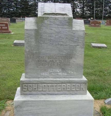 SCHLOTTERBECK, HENRY - Guthrie County, Iowa | HENRY SCHLOTTERBECK