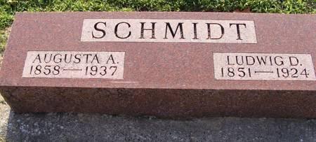 SCHMIDT, LUDWIG D - Guthrie County, Iowa | LUDWIG D SCHMIDT