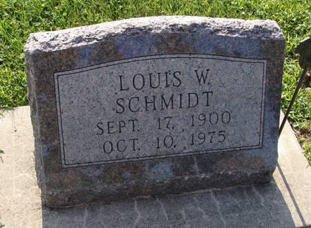 SCHMIDT, LOUIS W - Guthrie County, Iowa   LOUIS W SCHMIDT