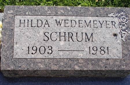 SCHRUM, HILDA - Guthrie County, Iowa | HILDA SCHRUM