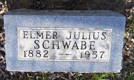 SCHWABE, ELMER JULIUS - Guthrie County, Iowa | ELMER JULIUS SCHWABE
