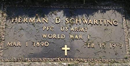 SCHWARTING, HERMAN D - Guthrie County, Iowa | HERMAN D SCHWARTING