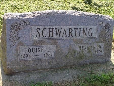 SCHWARTING, HERMAN D - Guthrie County, Iowa   HERMAN D SCHWARTING