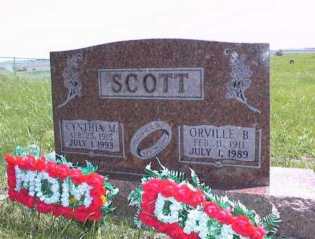 SCOTT, CYNTHIA M. - Guthrie County, Iowa | CYNTHIA M. SCOTT