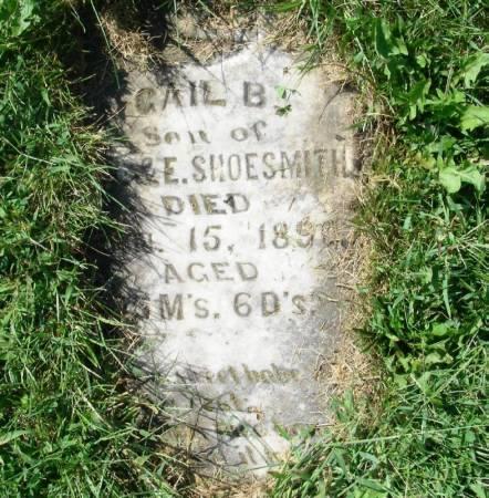 SHOESMITH, ?GAIL B. - Guthrie County, Iowa | ?GAIL B. SHOESMITH