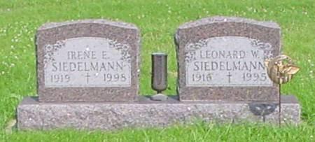 SIEDELMANN, IRENE E - Guthrie County, Iowa | IRENE E SIEDELMANN