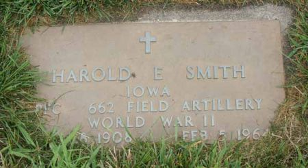 SMITH, HAROLD E. - Guthrie County, Iowa   HAROLD E. SMITH