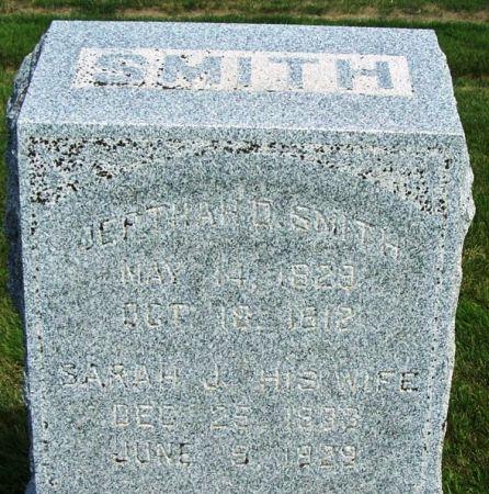 SMITH, JEPTHAH D. - Guthrie County, Iowa   JEPTHAH D. SMITH