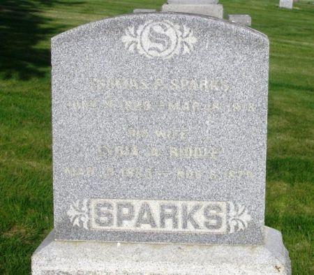 SPARKS, LYDIA A. - Guthrie County, Iowa | LYDIA A. SPARKS