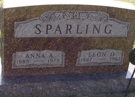 MUELLER SPARLING, ANNA A - Guthrie County, Iowa | ANNA A MUELLER SPARLING