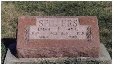 SPILLERS, WM P. - Guthrie County, Iowa | WM P. SPILLERS