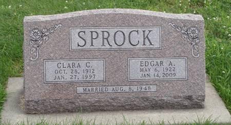 ERNST SPROCK, CLARA C - Guthrie County, Iowa | CLARA C ERNST SPROCK