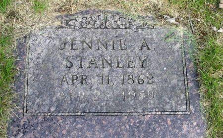 STANLEY, JENNIE A. - Guthrie County, Iowa | JENNIE A. STANLEY