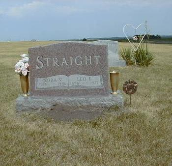 STRAIGHT, LEO F. - Guthrie County, Iowa | LEO F. STRAIGHT