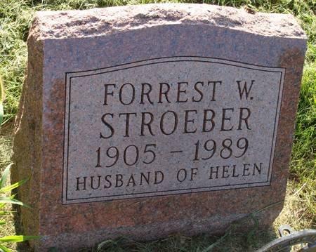 STROEBER, FORREST W - Guthrie County, Iowa | FORREST W STROEBER