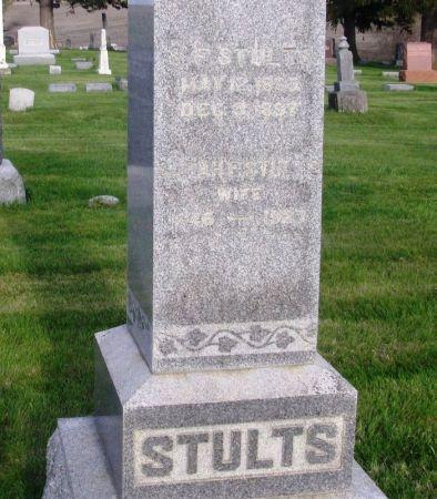 STULTS, SARAH E. - Guthrie County, Iowa | SARAH E. STULTS