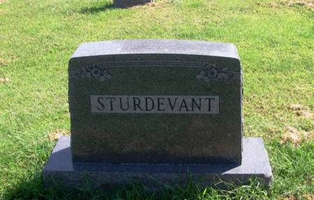 STURDVENT, ELMER W. FAMILY STONE - Guthrie County, Iowa   ELMER W. FAMILY STONE STURDVENT