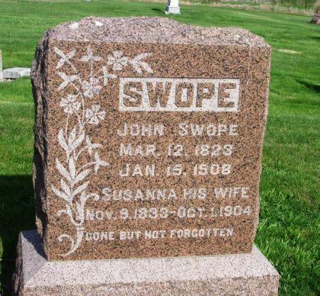 SWOPE, JOHN - Guthrie County, Iowa   JOHN SWOPE